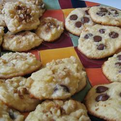 Coconut Almond Cookies LoveMyDad