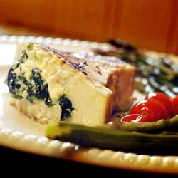 Mediterranean Stuffed Swordfish