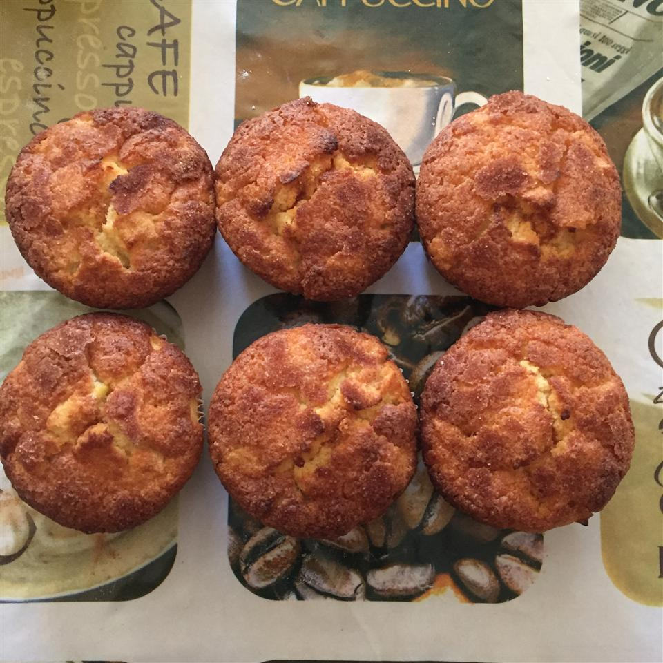 Apple Lemon with Cinnamon Muffins Douaa Mostafa
