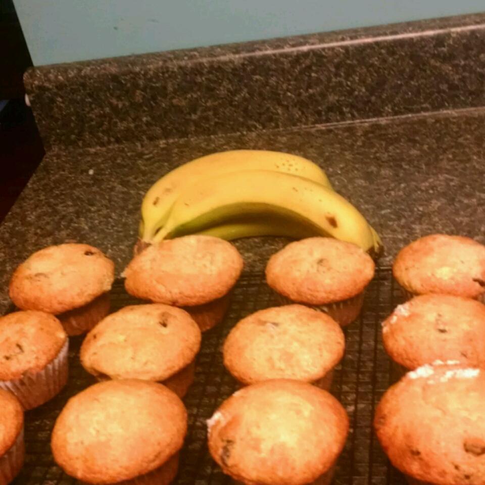 Moist Banana Muffins