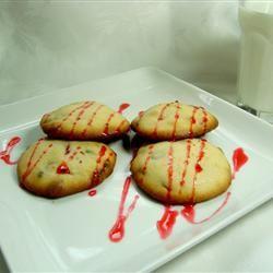 Raspberry Chocolate Cookies 99centtaco