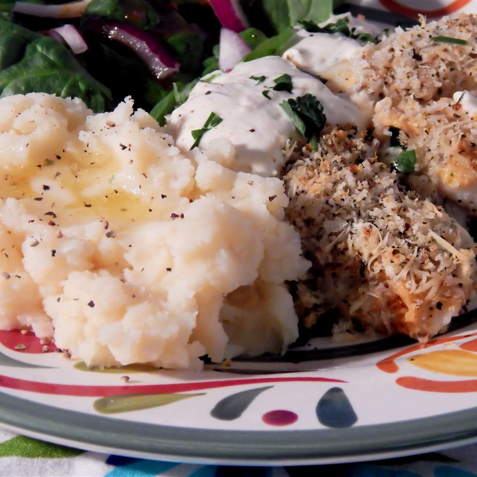 Light and Cheesy Panko Crusted Cod Linda T