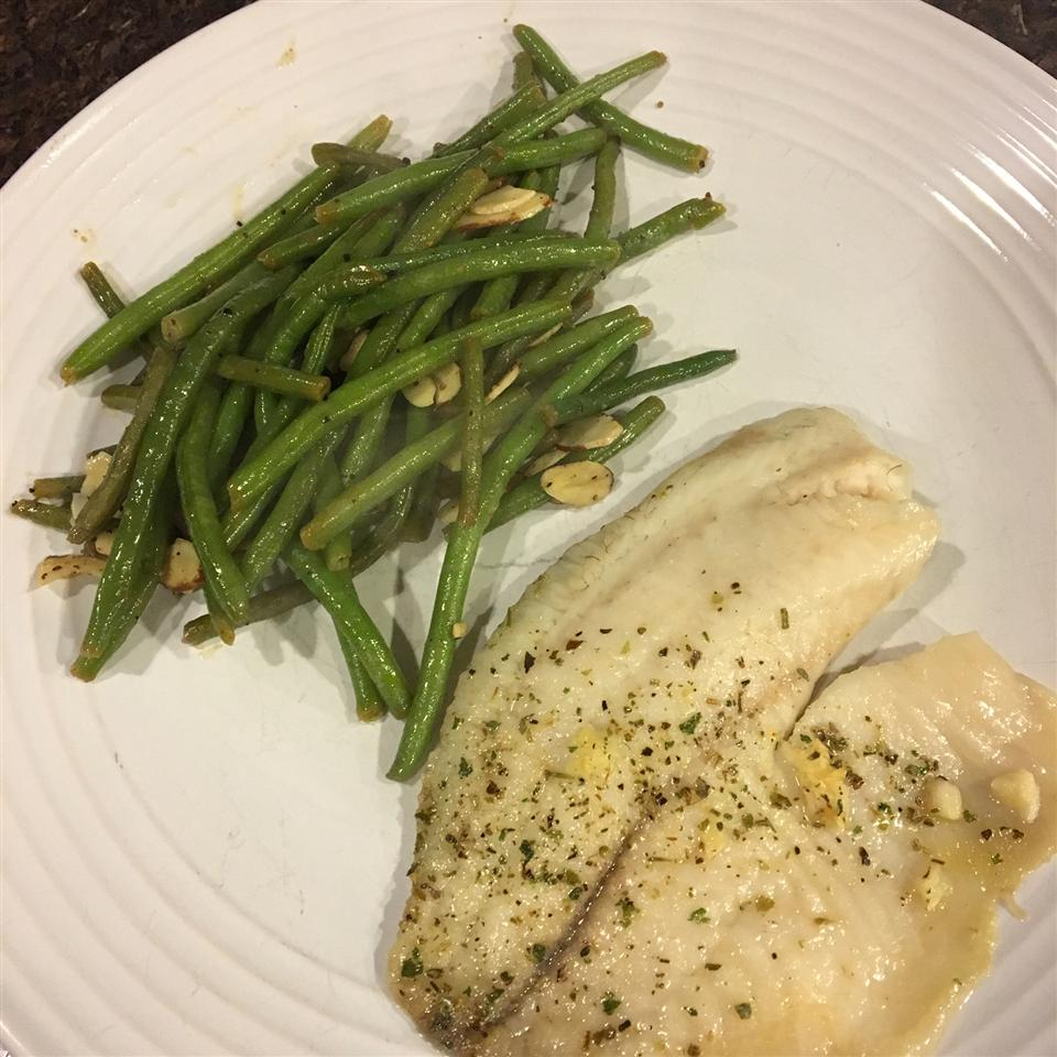 Herb Crusted Tilapia with Garlic Butter Thelma