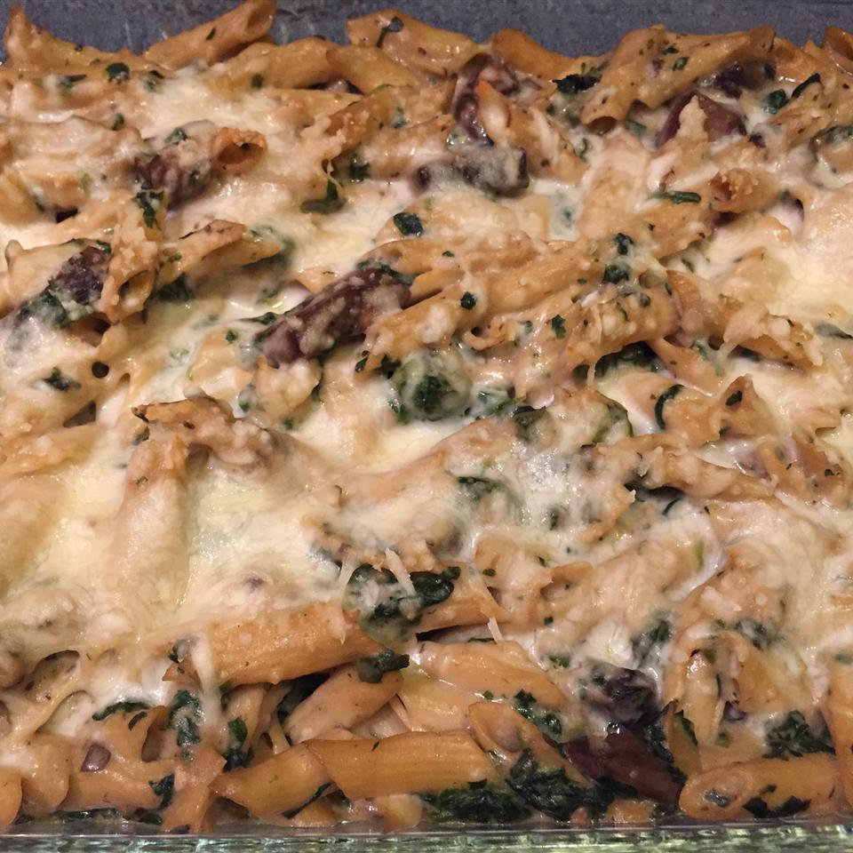 Portobello Penne Pasta Casserole Jeremy