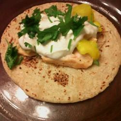 Soft Mahi Mahi Tacos with Ginger-Lime Dressing Cutiekaren