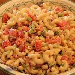 Macaroni Tuna Salad Sally Rogers