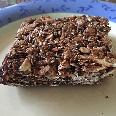 cocoa coconut granola bars recipe