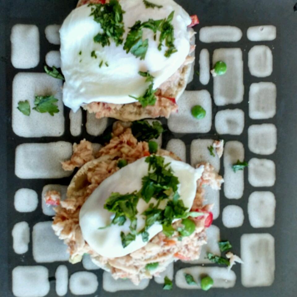 Asian Tuna with Poached Egg Idahosa Edokpayi