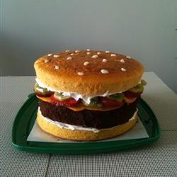 Bacon Cheeseburger Cake kympop