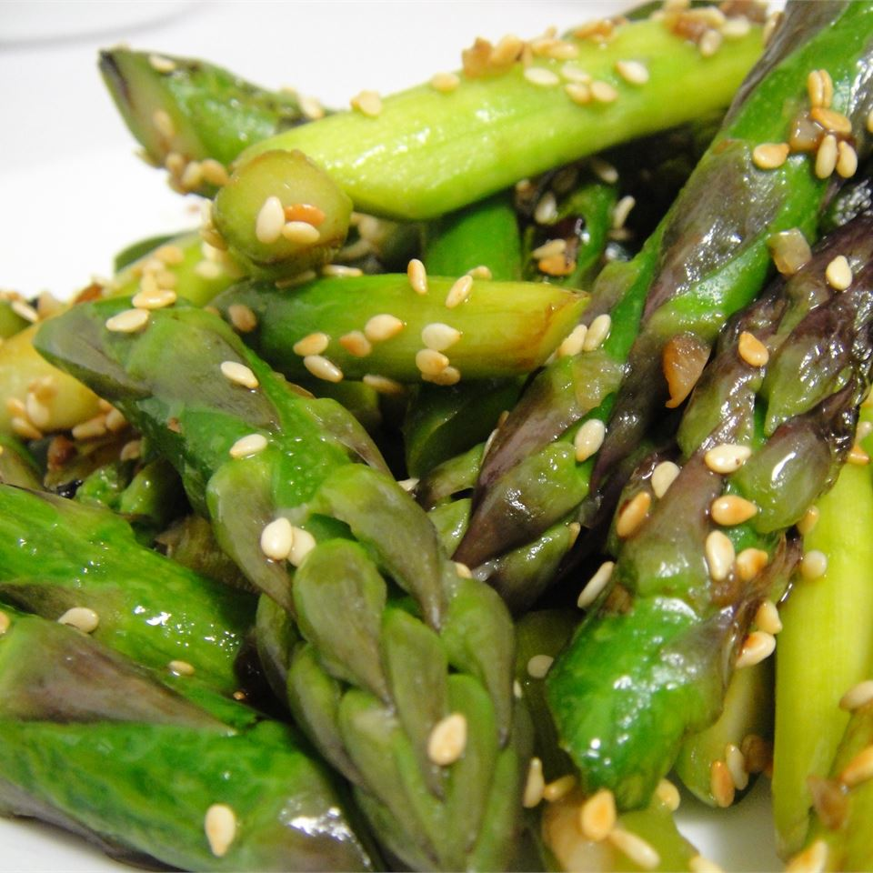 Awesomely Easy Sesame Asparagus ZOPOOH
