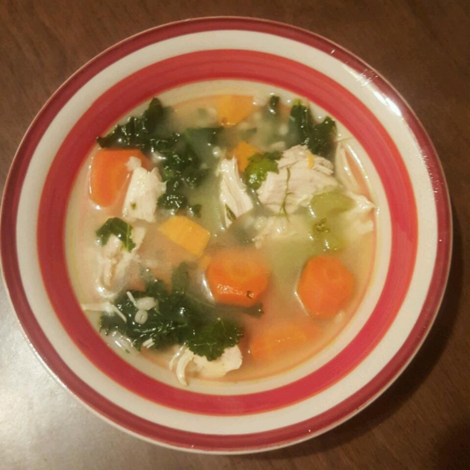 Chicken and Vegetable Soup Rachel Freedman
