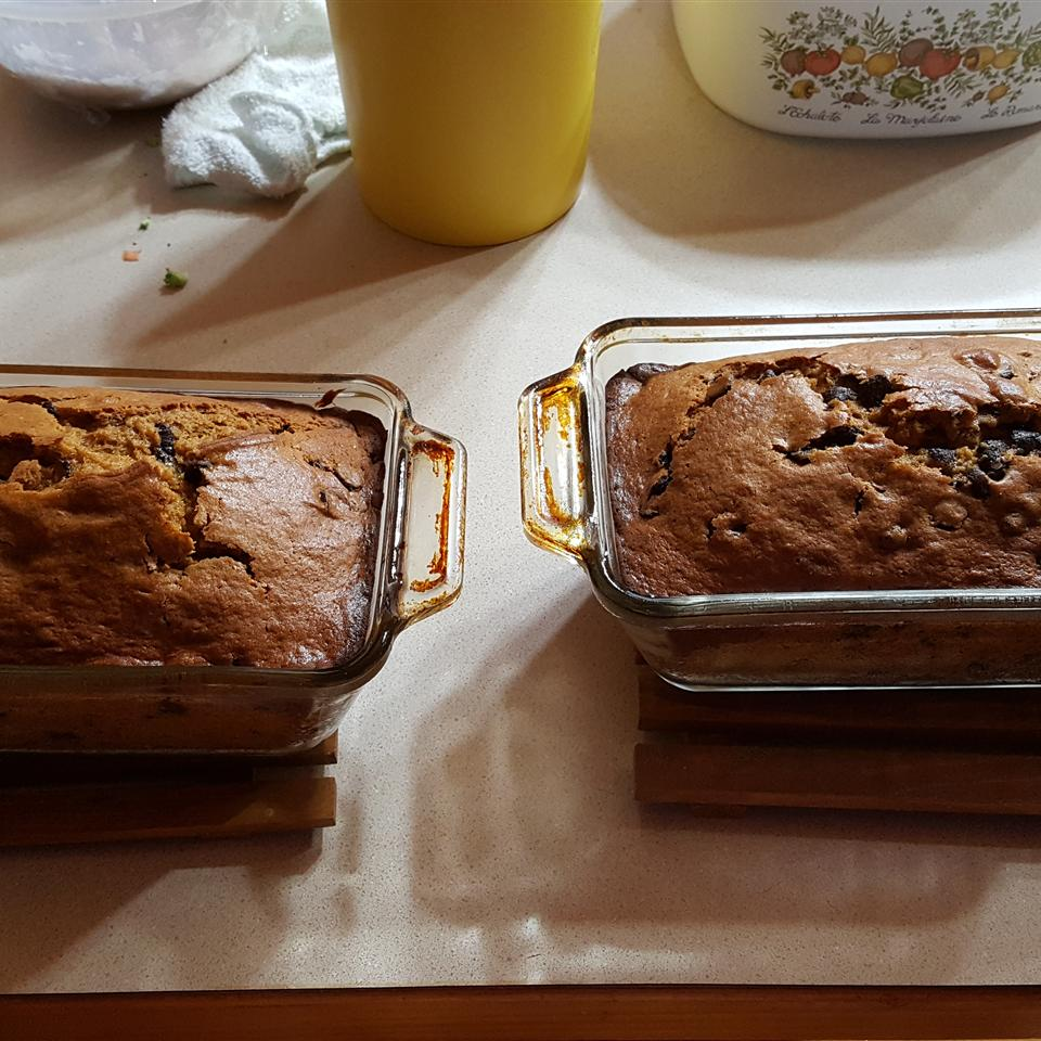 Chocolate Chip and Pumpkin Bread Chef Blade