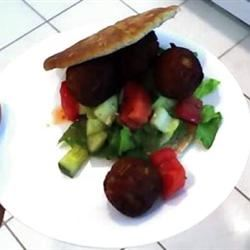 Sean's Falafel and Cucumber Sauce