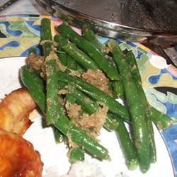 Green Beans with Bread Crumbs Kathleen
