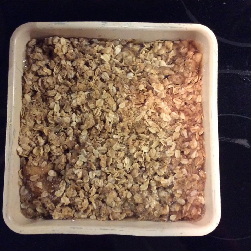 Easy Apple Crisp with Pie Filling