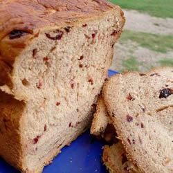 Cinnamon Cranraisin Bread