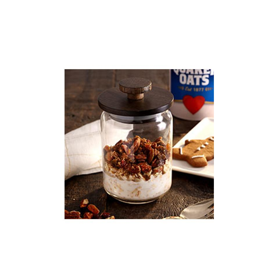 Gingerbread Overnight Oats Trusted Brands