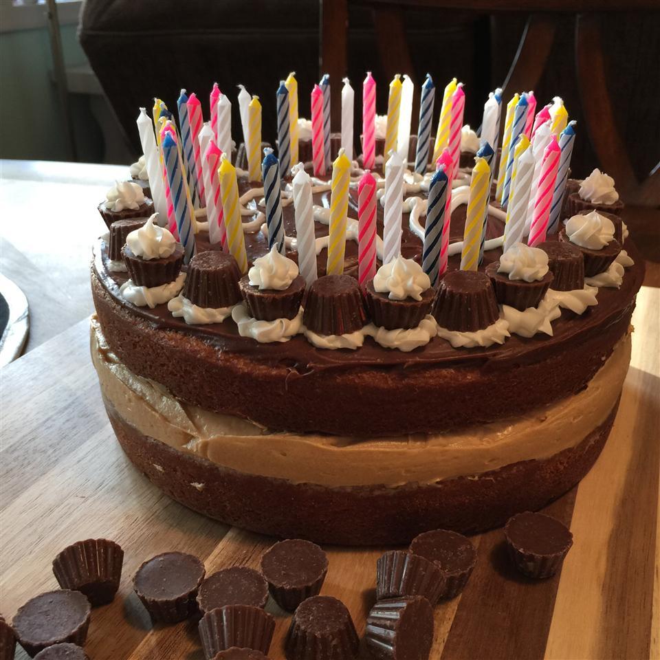 Peanut Butter and Chocolate Cake I Kimberly Kace Leetch