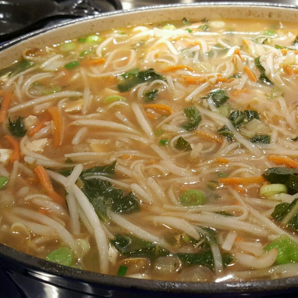 Ginger Noodle Bowl: The Vegan Version
