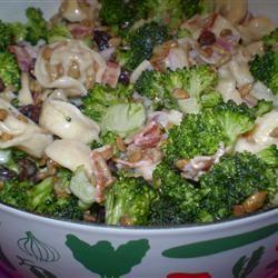 Broccoli and Tortellini Salad