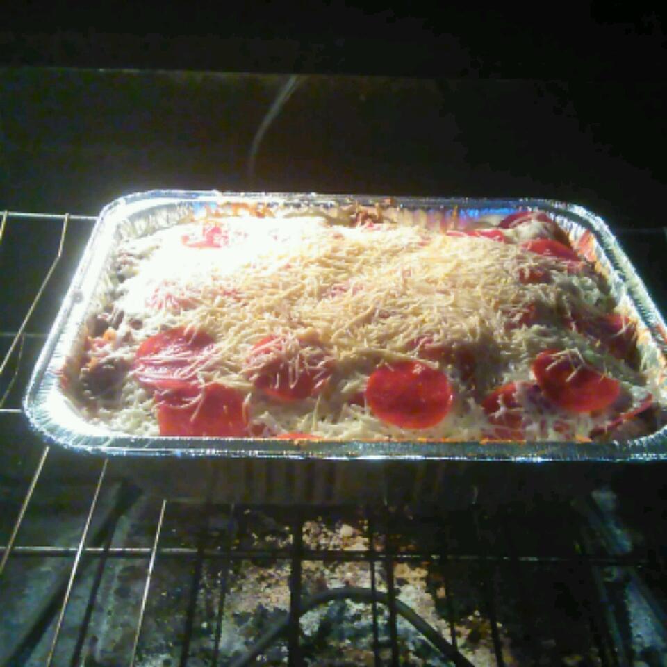 Pizza Spaghetti Casserole Jaime Martin