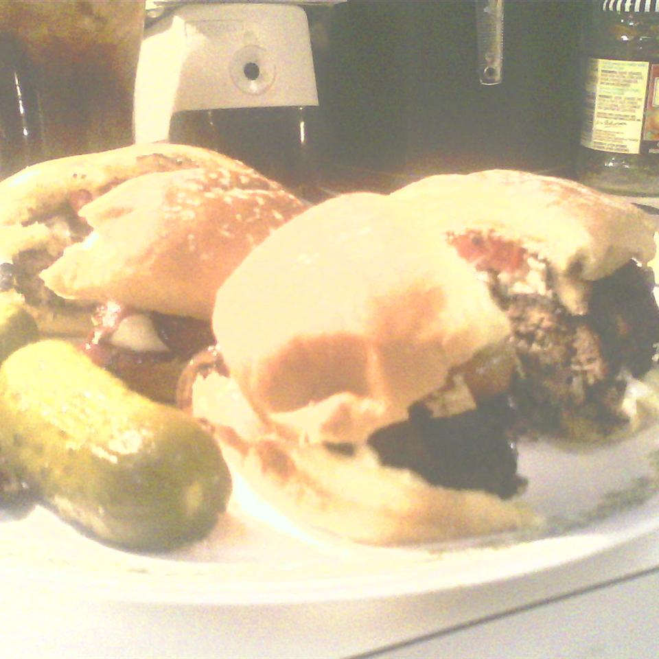 Blue Cheese Burgers