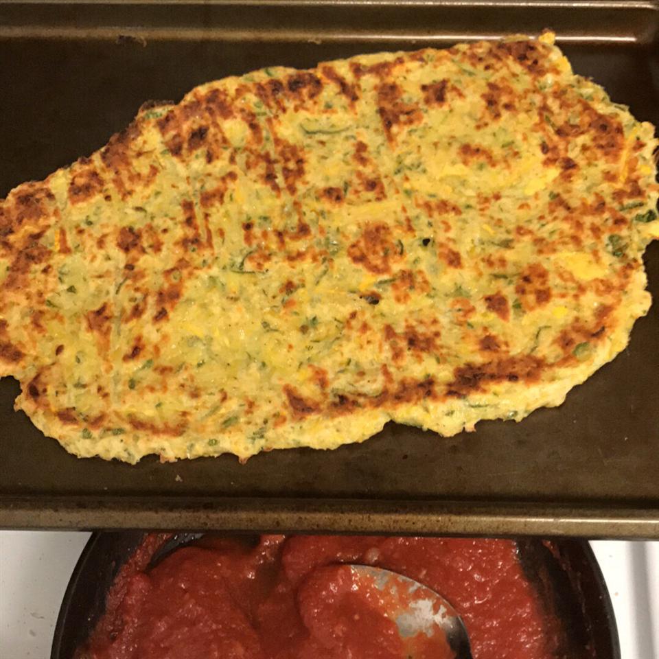 Summer Squash Pizza Crust