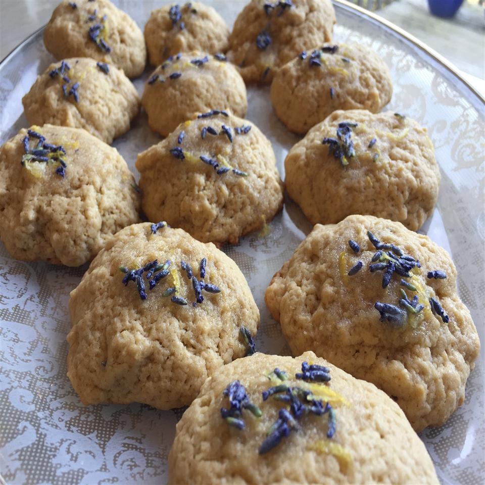 Lavender-Earl Grey Tea Cookies