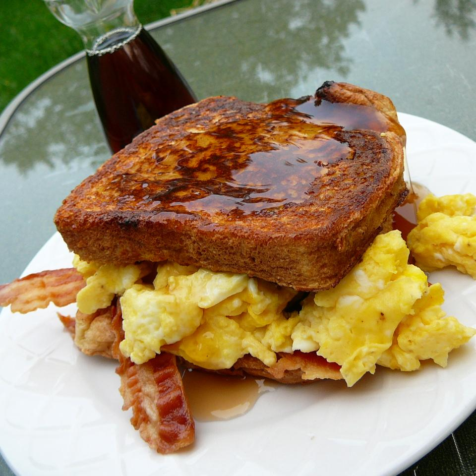 Maple French Toast Sandwich