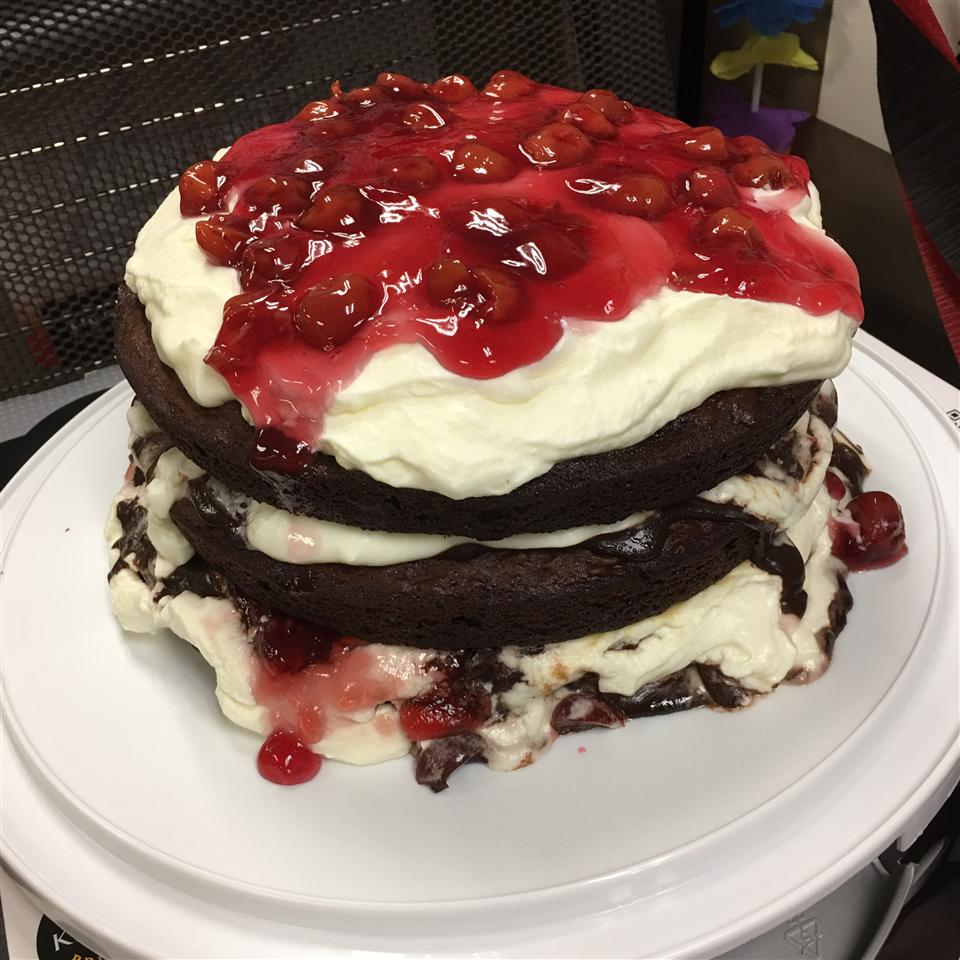Pretty Much a Piece of Heaven  Black Forest Cake