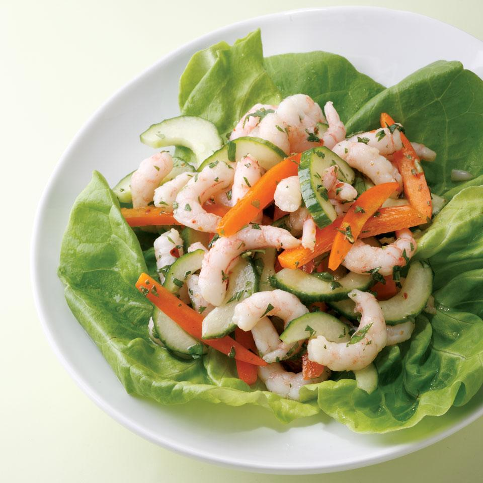 Spicy Thai Shrimp Salad EatingWell Test Kitchen