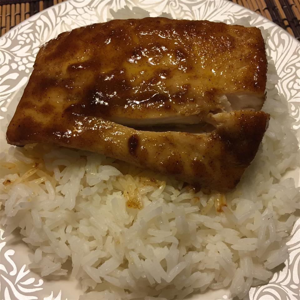 Maple Cajun Mahi Mahi