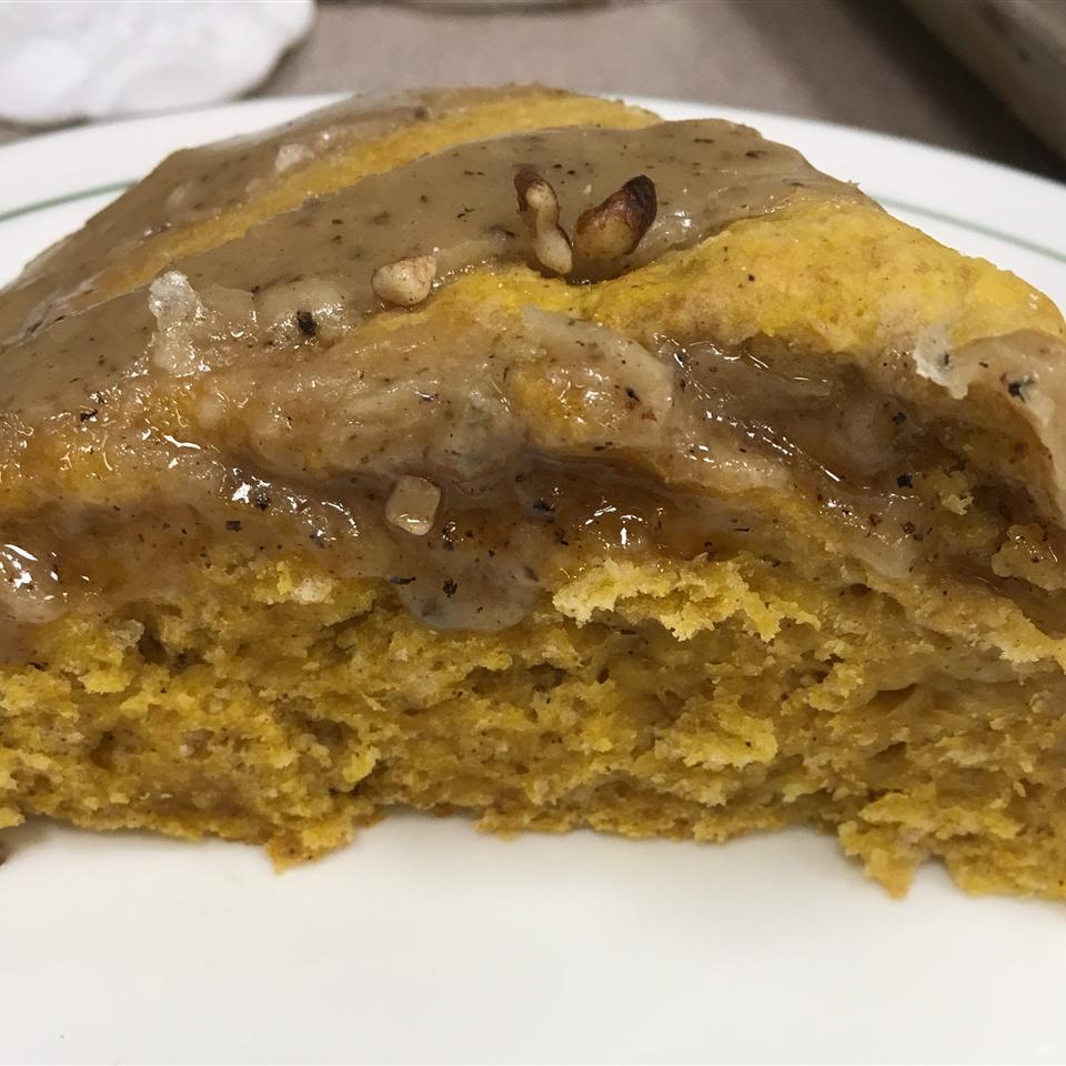 Pumpkin Scones with Brown Butter Glaze Ann Freele