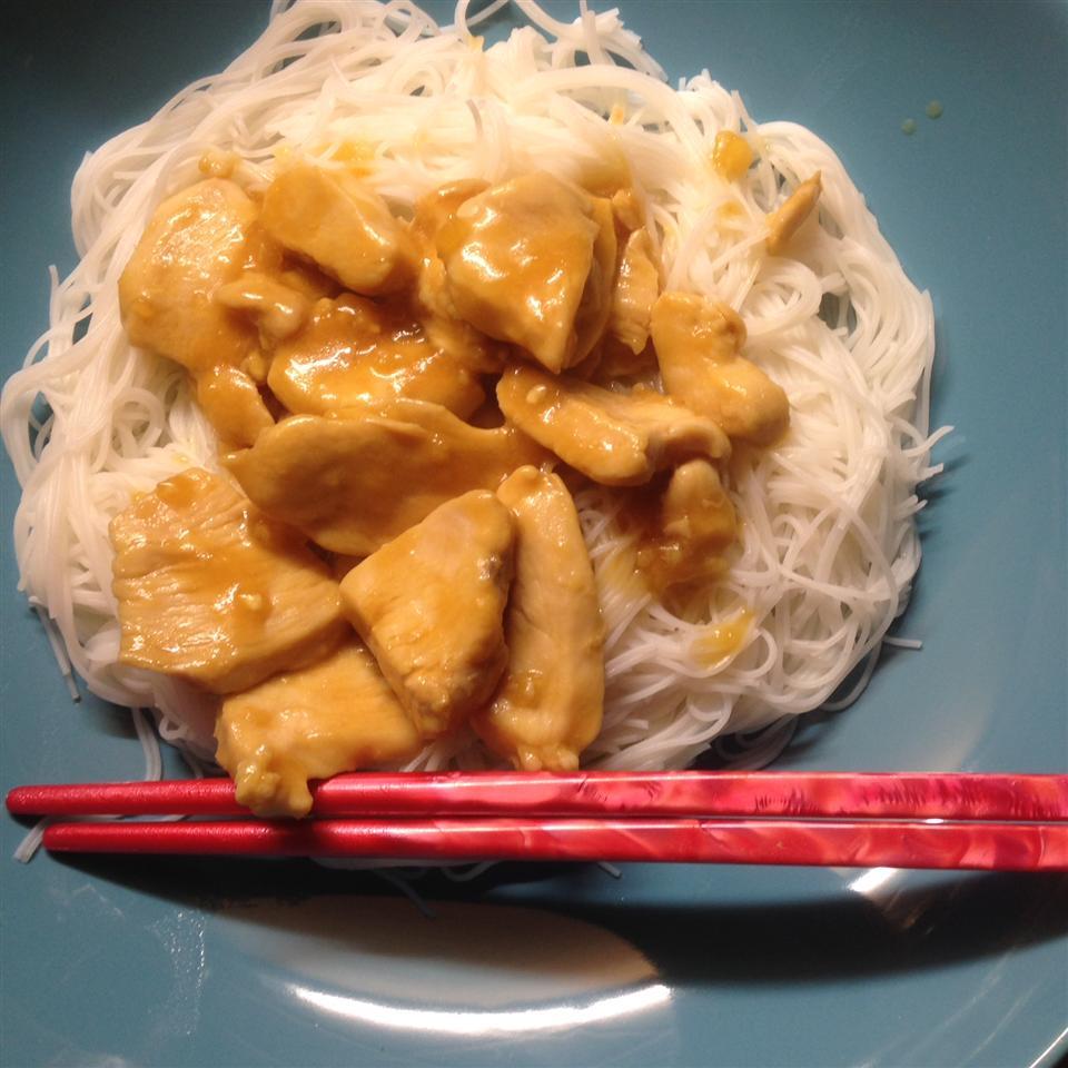 Orange Chicken Stir Fry