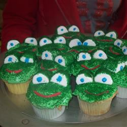 Frog Cupcakes Veronica Walker