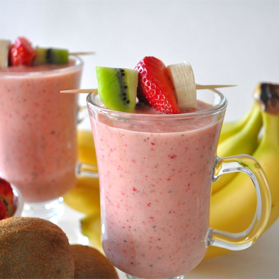 Kiwi Strawberry Smoothie Recipe Allrecipes