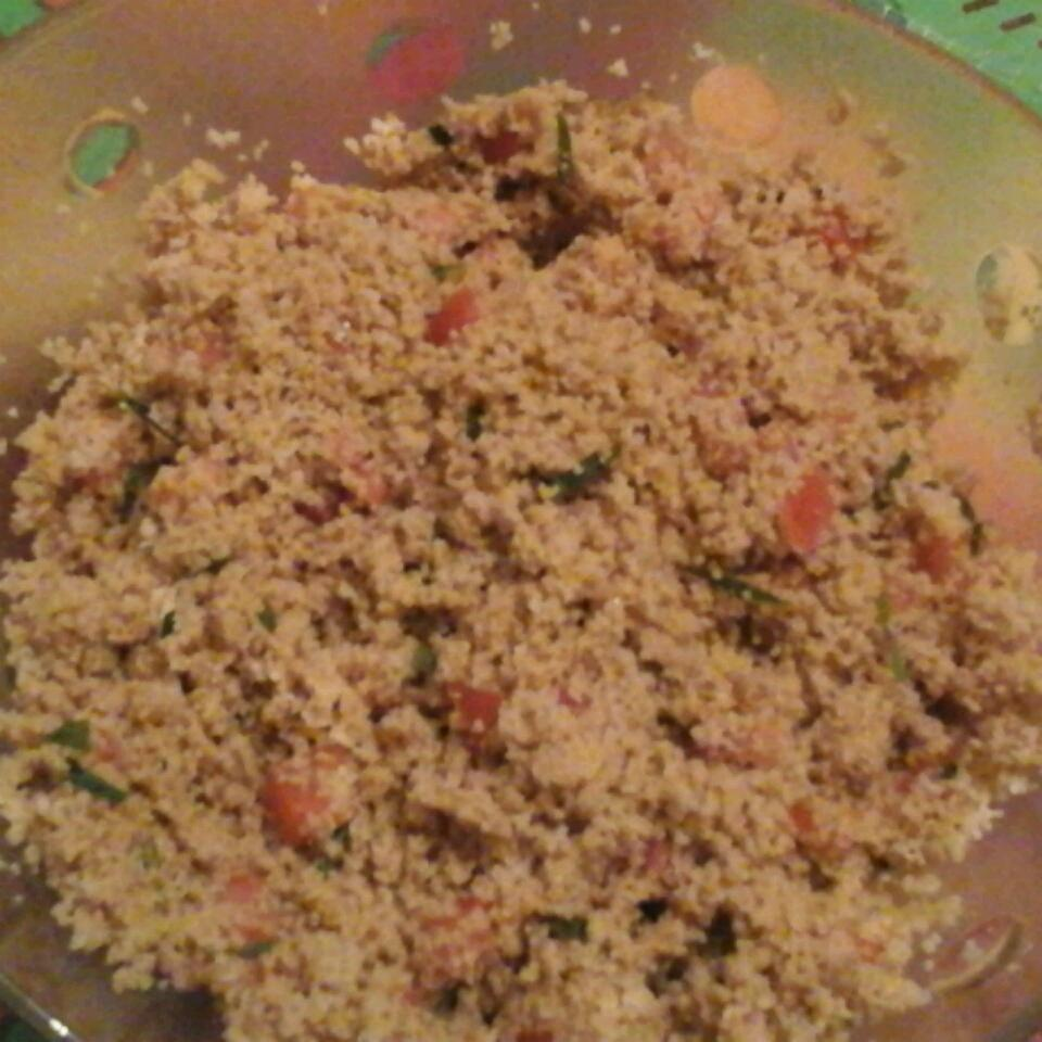 Couscous Salad with Tomato and Basil rebecca