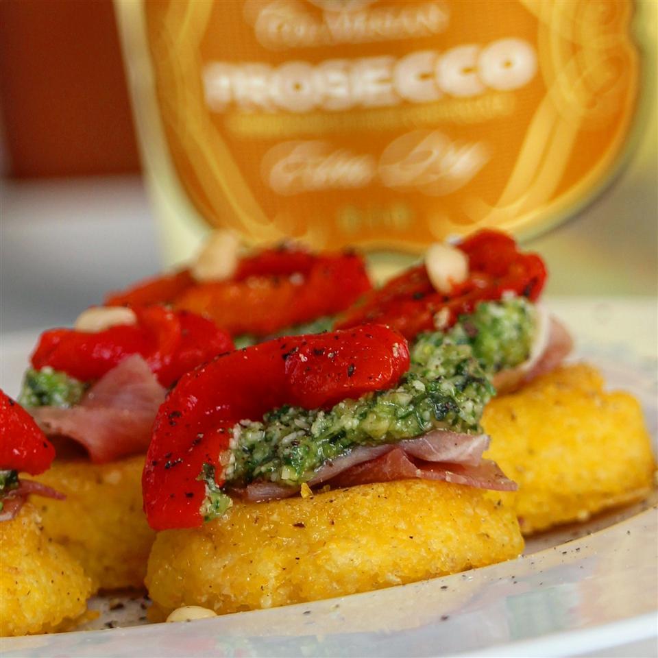 Lauren's Pesto Polenta Bites Buckwheat Queen