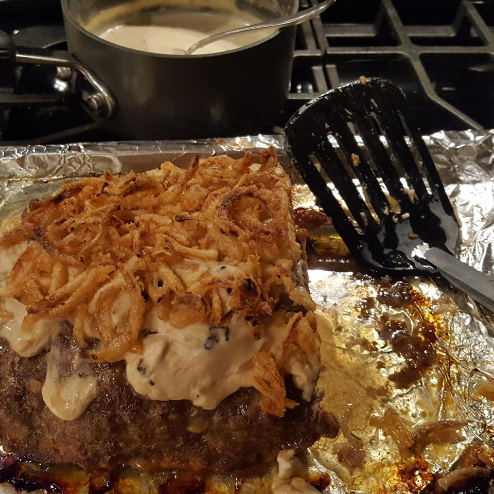 Meatloaf with Sour Cream Sauce Kelly Moore