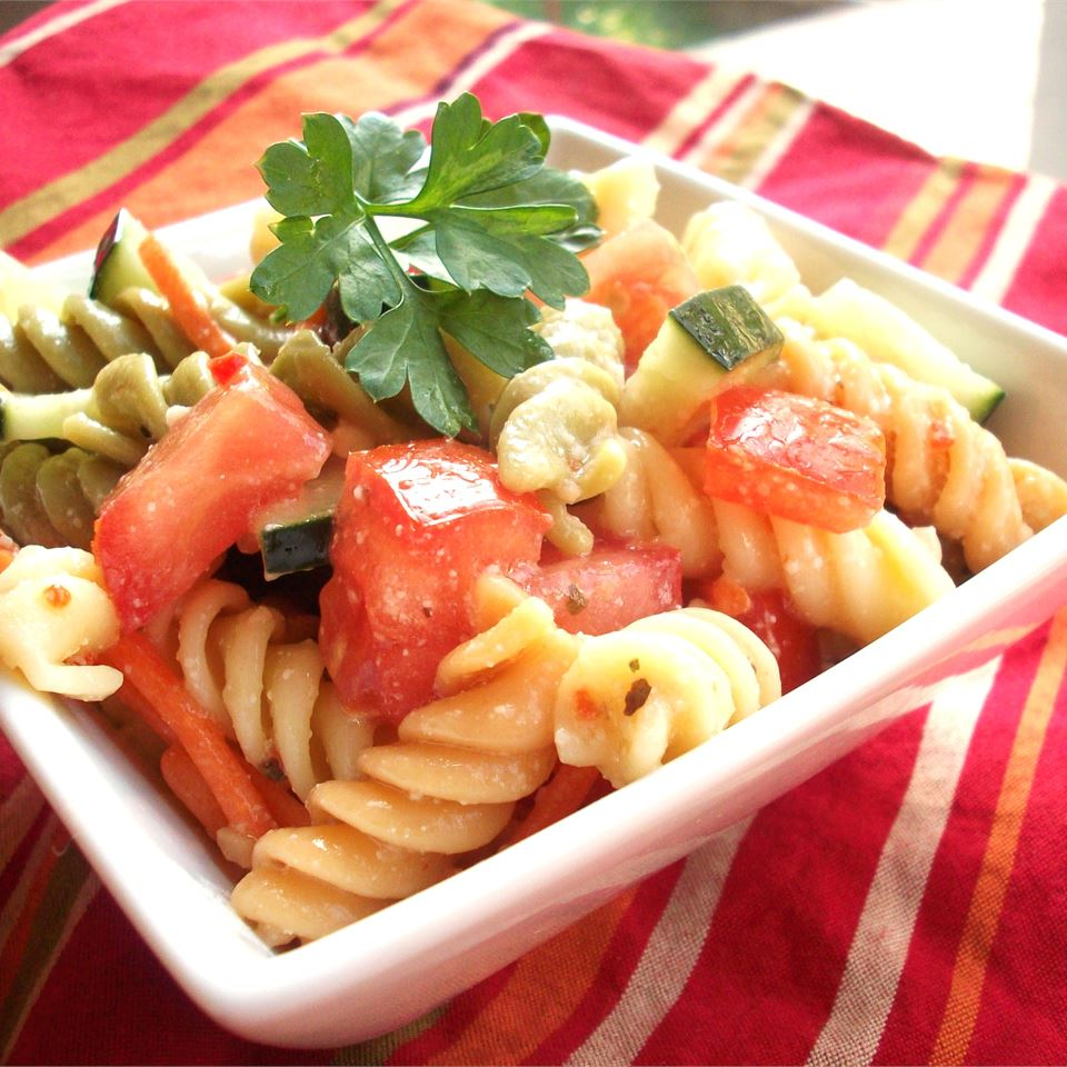 Simple Pasta Salad Katzen