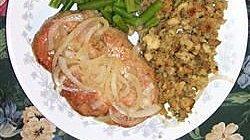Rosemary Sherry Pork Chops