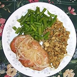 rosemary sherry pork chops recipe