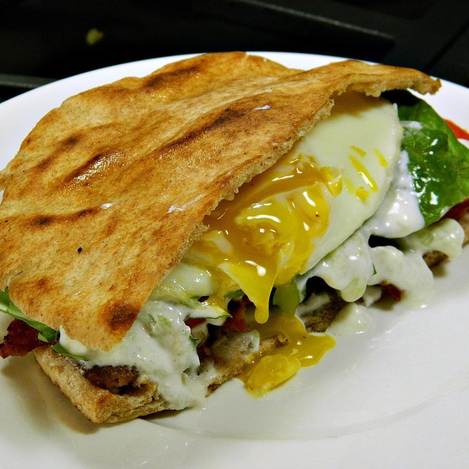 Cliff's Greek Breakfast Pitas Marianne