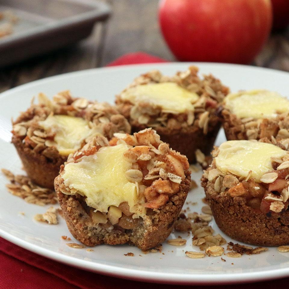 Mini Apple Pies with Cheddar Stacy Fraser