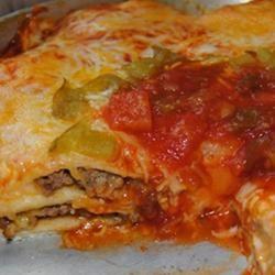 Taco Lasagna Mrs. CJR