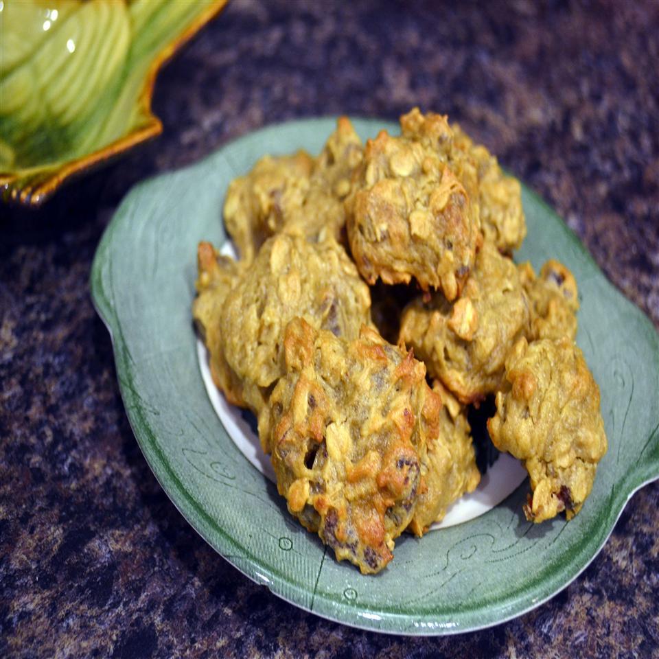 Persimmon Date Drop Cookies