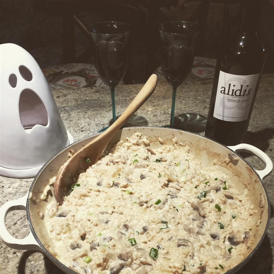 Chef John's Baked Mushroom Risotto LuckyPalm