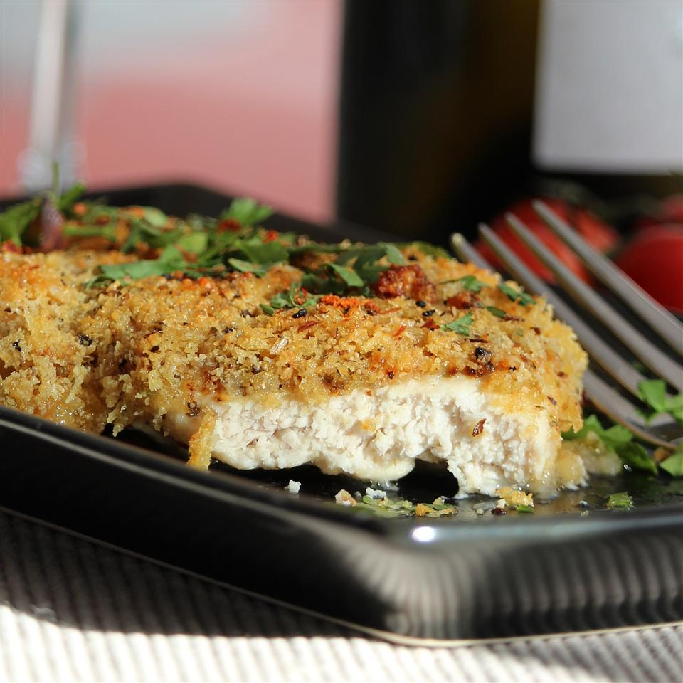 Family Favorite Crispy Parmesan Chicken