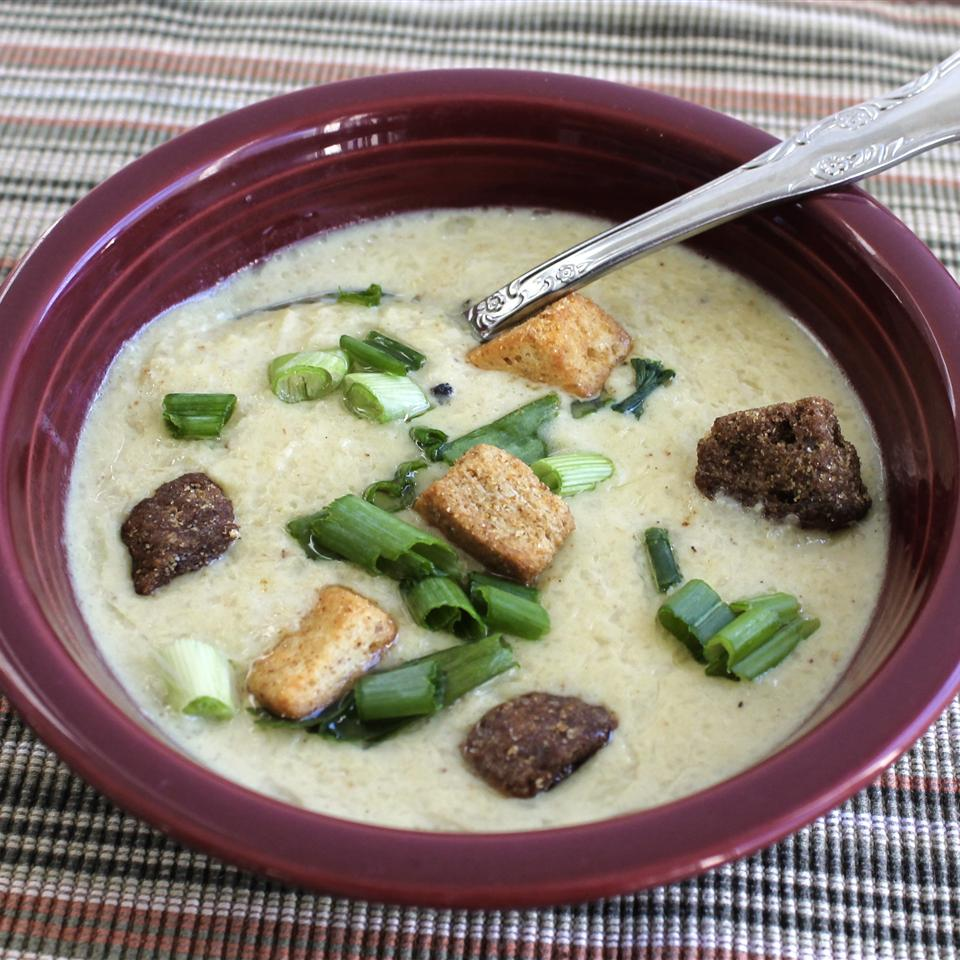 Roasted Cauliflower Soup Jennie