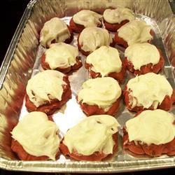 Red Velvet Cookies baking in il